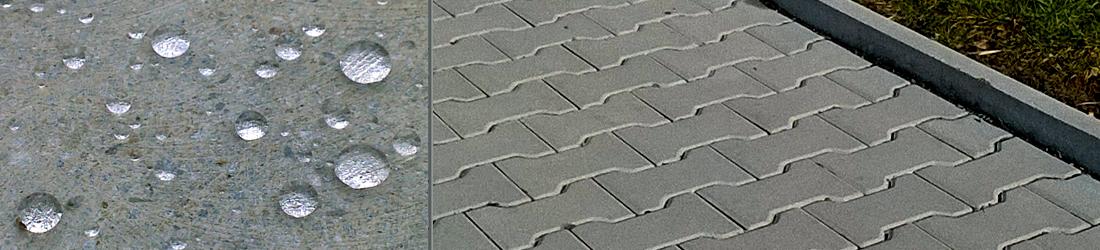 Impregnace betonu proti vodě